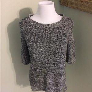Three quarter sleeve sweater